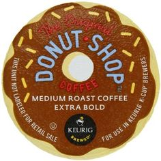 Donut Shop K-Cup packs for Keurig Brewers (Pack of 50): Amazon.com: Grocery & Gourmet Food