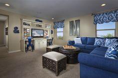 New Homes in Sahuarita, AZ - Presidio Porvenir at Rancho Sahuarita Plan 2836 Loft Kb Homes, Bonus Rooms, Your Perfect, New Homes For Sale, Model Homes, House Floor Plans, New Construction, Couch, Flooring