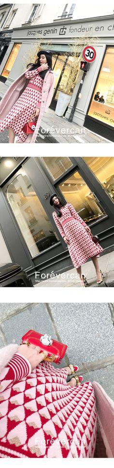 Forevercan2017 двойной 12 новых ретро Lingge элегантный с длинными рукавами с длинными рукавами платье женщины - Taobao