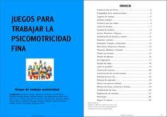 COLECCIÓN DE JUEGOS INFANTILES PARA TRABAJAR LA MOTRICIDAD FINA
