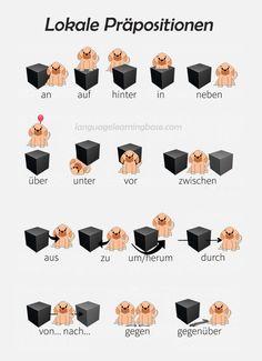 7 best lokale pr positionen images in 2017 german language german language learning learn german. Black Bedroom Furniture Sets. Home Design Ideas