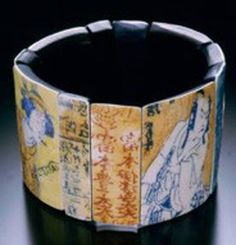 1999 Japanese Cuff Bracelet  http://www.gwengibson.com