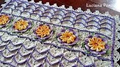 Resultado de imagem para novidades em tapetes em croche