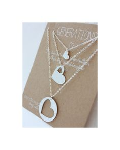 Sistema del collar de generaciones - collar personalizado - regalo de collar - de la madre día - abuela madre hija - madre-regalo regalo de boda