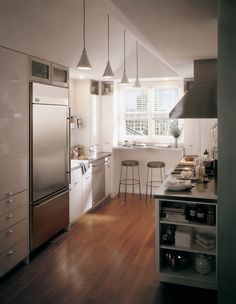 Small shelves on the end of cabinet would be super easy and might be a nice touch for a renter
