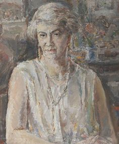 Dame Ethel Walker - Annie Theodosia Wilson (Mrs Charles Francis Bentham) 1940