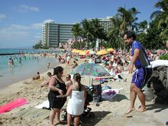 Waikiki Beach early afternoon!