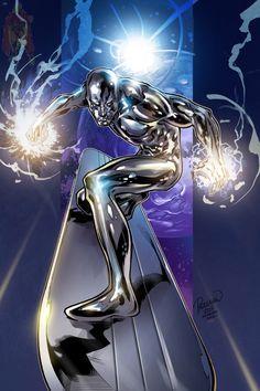 Galactus Marvel, Captain Marvel Shazam, Marvel E Dc, Marvel Comic Universe, Marvel Comics Superheroes, Superhero Villains, Marvel Heroes, Silver Surfer Wallpaper, Silver Surfer Comic