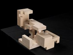 Perspective of cube model in open position. Kandinsky, Famous Architects, Environmental Design, Wallpaper Iphone Cute, Design Process, Design Model, Architecture Design, Building, Projects