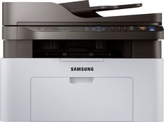 Samsung - Xpress M2070FW Wireless Black-and-White All-In-One Laser Printer - Black/Gray, SL-M2070FW