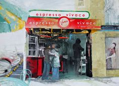 Espresso Vivace  on Broadway in Seattle   http://www.marshaglaziere.com/portfolio/vivace-espresso