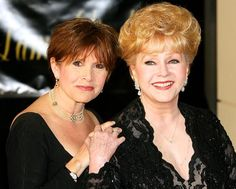 This is beyond word's... 12.28.16 Carrie Fisher's mom, Debbie Reynolds, dies one day after her daughter died of a heart attack. My sympathy goes out to the family.