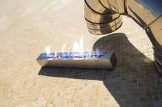 Chimenea bioetanol rectangular L600, ideal para proyectos de interiorismo con fuego real Bathtub, Bathroom, Fire, Projects, Standing Bath, Washroom, Bathtubs, Bath Room, Bath