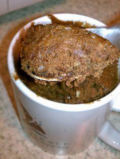 Chocolate Mug Cake for Two | alittlenosh.net