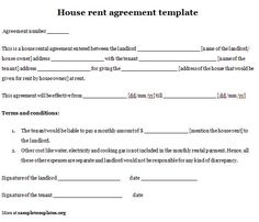 Printable Sample Rental Lease Agreement Templates Free Form Real - Private rental lease agreement template