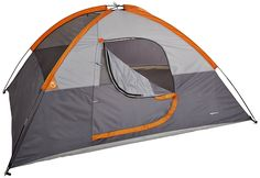 AmazonBasics 4-Person Dome Tent : http://amzn.to/2sbIZFR