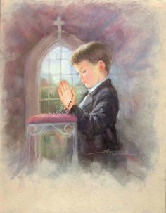 Kids on their First Communion: Cute Images. Communion Prayer, First Holy Communion, Mom In Heaven Quotes, Image Jesus, Little Prayer, Communion Invitations, Religious Images, Jesus Pictures, Prayer Cards