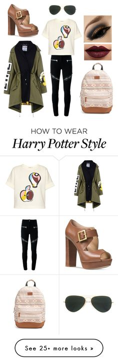 """I want a fennekin"" by drummergirl95 on Polyvore featuring Givenchy, Fendi, Moschino, Ray-Ban, Rip Curl, LASplash and Michael Kors"