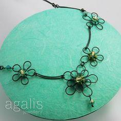 Dvojkvetinky (náhrdelník)