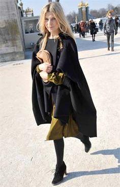 coat week cape clemence poesy