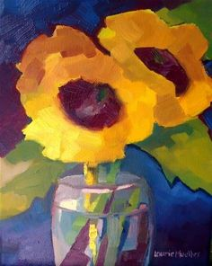"""Chunk O Sun"" - Original Fine Art for Sale - © Laurie Mueller"