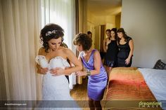 Getting ready before a Donovan Pavilion Wedding | Vail, CO | Megan + Dom