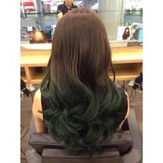 brown to green ombre - Google Search