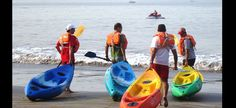 Kayaking is rapidly becoming a favorite water sport among tourists coming to Goa. The pristine beaches and surf of Goa are just perfect for Sea Kayaking. The Dona Paula Beach in Goa is one of the most happening spots for Sea Kayaking in Goa.. goa-beaches.in