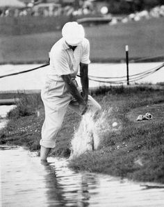 Ben Hogan Water Shot - The 31 Greatest Ben Hogan Photos Of All Time - Photos - Golf.com