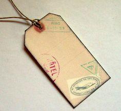 Luggage tags - DIY!