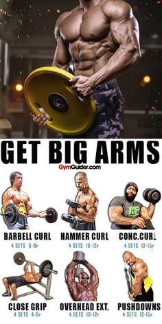 The question of whether to perform biceps exercises is part of the larger debate on the merits of isolation vs. Isolation activities -- including biceps exercises -- target a singl Fitness Workouts, Weight Training Workouts, Gym Workout Tips, At Home Workouts, Workout Circuit, Workout Challenge, Big Biceps Workout, Best Exercise For Biceps, Compound Exercises
