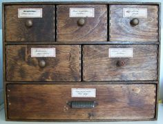 DIY Apothecary Box from IKEA hacked Moppe drawer box. I must make this!! Beautiful!
