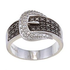 Buckle ring! http://www.overstock.com/Jewelry-Watches/Sterling-Silver-Black-Diamond-Accent-Buckle-Ring/4771446/product.html