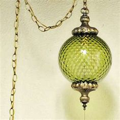 Hanging Lamp - my mom has one just like this
