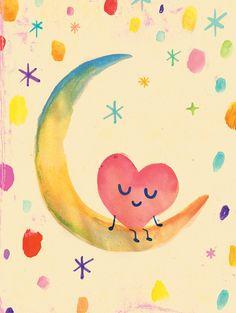 Happy Heart (Cuore en la luna)