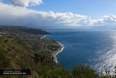 Wip n.63 / Andare in alto è sempre un ottimo modo per fare il punto della situazione... https://www.facebook.com/giovannilongo.art / Tirreno Calabria Italy landscape
