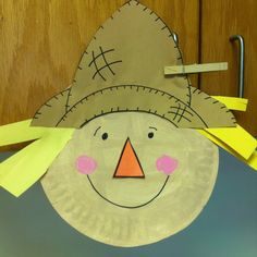 Paper Plate Scarecrow | Crafts | Spoonful | Fall crafts | Pinterest | Scarecrow crafts Scarecrows and Craft & Paper Plate Scarecrow | Crafts | Spoonful | Fall crafts | Pinterest ...