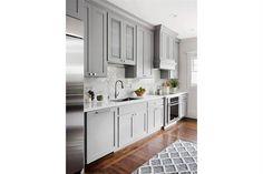 Decorar con color: 12 cocinas en gris