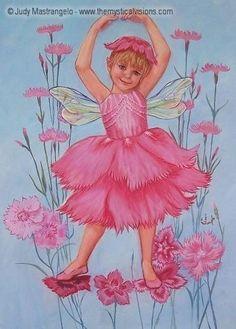 Illustration féerique de Judy Mastrangelo