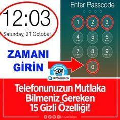 Telefonunuzun Mutlaka Bilmeniz Gereken 15 Gizli Özelliği! #telefon #iphone #android #teknoloji @faydalibilgin