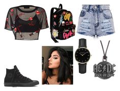 """Summer"" by diana-gheatau on Polyvore featuring Betsey Johnson, AC/DC and ROSEFIELD"