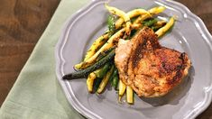 Mario Batali's Charred Chicken  Thighs with String Bean Salad