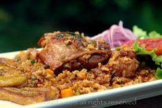 Receta del arroz con pollo