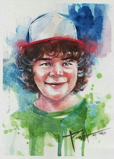 Watercolor Dustin
