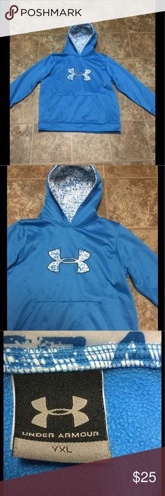 Under Armour Sweatshirt Hoodie Size YLG NWOT Under Armour Blue Sweatshirt Hoodie Size YLG NWOT Under Armour Shirts & Tops Sweatshirts & Hoodies