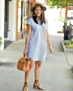 Fashion Line, Modest Fashion, Girl Fashion, Fashion Outfits, Casual Dress Outfits, Curvy Outfits, Simple Dresses, Nice Dresses, Dress With Sneakers
