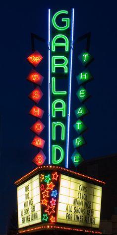 Garland Theatre, Garland and Monroe Street, Spokane, Washington