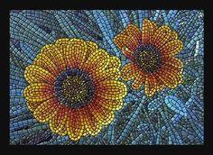"Giclee print, mosaic art ""Gazinias"""