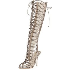 Sophia Webster Clementine Strappy To-the-Knee Gladiator Sandal Boot
