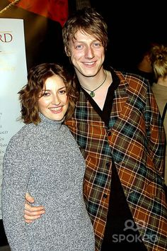 one of the cutest couples ever. Kelly MacDonald and Dougie Payne